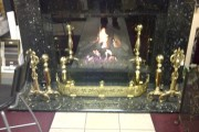 Mirror fire place