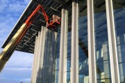 Commercial curtain wall